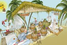 The Beach Bar at The Montague on the Gardensl / The Bahamas meets Bloomsbury with the launch of The Beach Bar pop up at The Montague on the Gardens Hotel this for a limited time only this June & July 2016. The perfect #SummerParty venue, contact us for more information: http://www.montaguehotel.com/ski-and-surf/the-beach-bar for more information