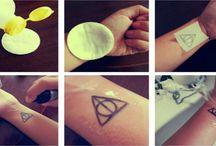 A-Z Csillám tetoválás - Testfestés - Arcfestés A-Z