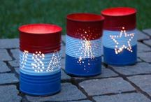Fourth of July - Memorial Day / 4th of July and Memorial Day Food, Crafts, Ideas and Tips for a patriotic celebration!