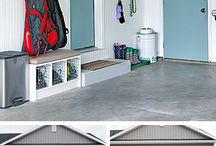 Organizing the Garage / Garage organization tips and inspiration