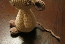 crochet animals and dolls