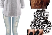 High school outfit ideas for sophomores / by Hannah Akers