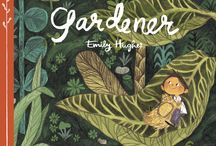 Emily Hughes / Brighton-based children's book illustrator. Seems to only draw flowers.