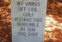 golf stuff!! / by Terri Morton