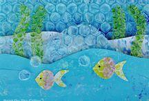 Kesä, vedenalainen maailma