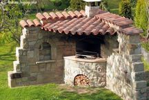 asadores rusticos para patio