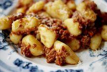 gnocchi ~potatoes ~ ravioli