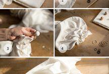 Tecnicas  de amarrar para teñido