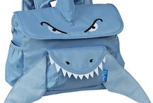 Shark Pack / Our ferociously cute Shark Pack is perfect for preschool predators with a carnivorous sense of style. Complete with flippers, a fin and the sharpest of teeth, this backpack also includes plenty of pockets to hold show-and-tell treasures. It's an adorable way to take a bite out of style!
