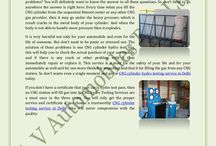 How To Protect Your CNG Cylinder From Exploding? / This service is a must for the safety of your life and for your automobile as well and for one more think it is important and that it for filling the gas from any CNG station. So don't waste even a single moment and go for CNG cylinder hydro testing service in Delhi today.