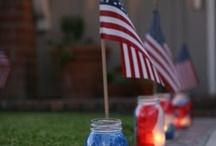 4th of July Patriotic / by Elizabeth Lewis