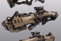 SCIFI Weapons