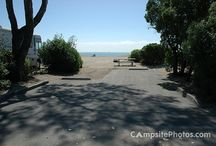 Best California Beach Campgrounds / Here are some photos of campsites from some of the best California beach campgrounds.