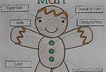 Gingerbread Man / Gingerbread man activities and ideas for the primary classroom