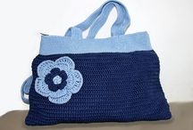 My Crochet and Knitted Bags