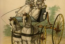 History - Transport / Transport changes from bath chairs, horses, carriages, buses, trains etc. / by Suzi Love