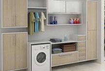 Áreas internas e externas - Design de interiores / Quintal, churrasqueira, garagem, lavanderia, jardim, piscina, entradas, escadas, etc