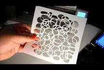 Stencils Silhouette
