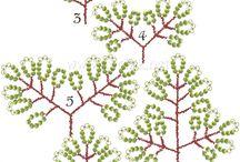 korálkové stromečky