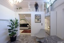 Casa 4 - Architecture and Design / A loft in a urban context - Contemporary Design realized by Michele Gambato Architetto