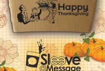 November #SaMSpecial / Don't Be a Turkey!!! Show your customers just how thankful you are for them with our November #SaMSpecial. For the cost of double-sided printing you can show each of your customers how much they mean to you with our Thanksgiving sequence. Contact Sleeve a Message for details!