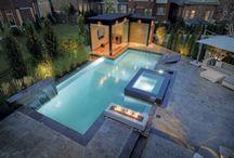 Piscine / Aménagement paysager de piscine