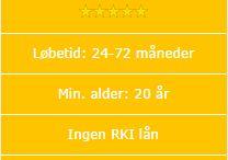 billiga lån / Billiga lån - Få ett billigt lån på nätet, fyll i ansökan här. Behöver du en Billiga lån? Här på www.snabbpengar.se vi samlat de bästa online lån leverantörer i Danmark där man kan låna pengar inom 15 minuter helt anonymt varje dag dygnet runt. Du kan vara gratis och utan förpliktelser söka lån på flera ställen och sedan välja det billigaste. / by lån penge