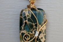 wire wrapped jewellery