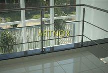 """CORRIMÃO INOX 2 TUBINHOS / Corrimãos em tubos redondos de aço Inox 304 escovado ou polido, sendo Tubo Superior de 2"""", Colunas de 1.1/2"""" e 2 Tubinhos 5/8"""".  FALE  AGORA COM O SERGIO  Whatsapp: (19) 9.8363.4489  Celular: (19) 78273367 ID: 14*1003369  E-mail: corrimaoinox@hotmail.com  Site: corrimaoinox.wordpress.com"""