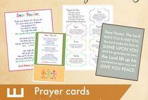 Card/communication/encouragement ideas