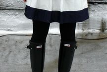 Hunter boots style