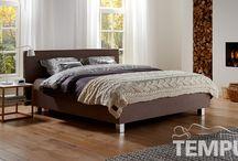 Flex design bed van TEMPUR / Een mooi bed dat heel eenvoudig in elkaar gezet kan worden.