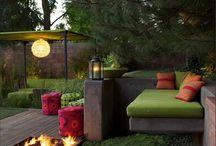 Terrasses, vérandas et jardins / Des terrasses et des vérandas