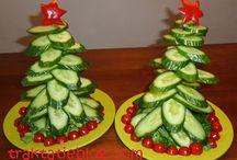 Kerstmis eten en drinken