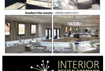 Jewelry Store Interior Designer / Successful establishments like these have one thing in common: a superior image.