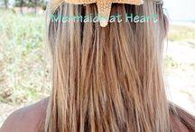Sea Shell Hair Accessories