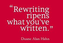 Rewriting & Editing / Rewriting and Editing your writing