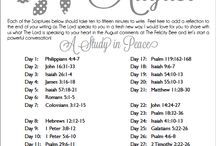 Monthly Bible Study Scripture