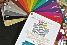 {Color Inspiration Notebook} / My book for creating gorgeous painted furniture.