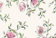 Floral design patterns