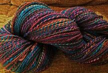 Mountain Colors Roving--all spun up