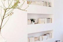 In wall shelfs