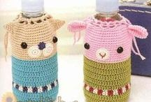 Crochet bottle cover