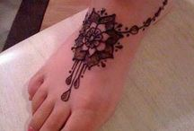 leg/foot tattoos