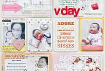 Ideas scrapbooking a baby girl
