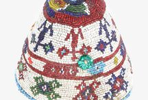 Headwear / Traditional Uzbek taquiah, also called 'doppa', is comprised of intricate beadwork that resembles mosaics upon closer inspection. These fine examples of stunning craftsmanship celebrate tradition and the richness of culture.
