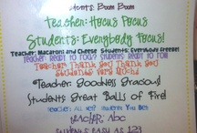 teach. / by Melanie McCord