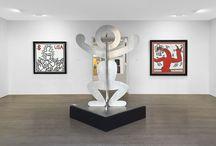 Exposition Keith Haring - Galerie Laurent Strouk / Exposition Keith Haring à la Galerie Laurent Strouk du 23 octobre au 27 décembre 2014.