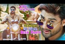 Sunday Re Mora Beer Party song making HD video