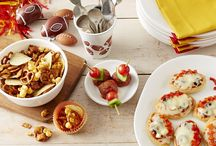 Super Game, Super Snacks / Some of our favorite recipes to accompany the Big Game / by Corelle Dining